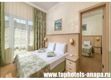 Отель «ALEAN FAMILY RESORT & SPA DOVILLE / Довиль» Family superior 4-местный 2-комнатный