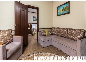 Отель «ALEAN FAMILY RESORT & SPA DOVILLE / Довиль» Suite Superior 2-местный 2-комнатный