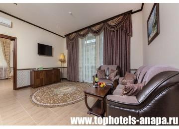 Отель «ALEAN FAMILY RESORT & SPA DOVILLE / Довиль» Apartament Superior 4-местный 3-комнатный