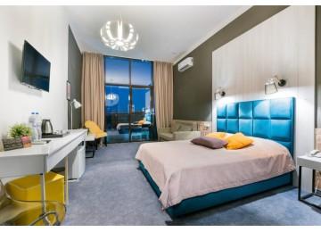 Отель «Beton Brut» Бетон Брют 2-местный standart pаnoramic LV