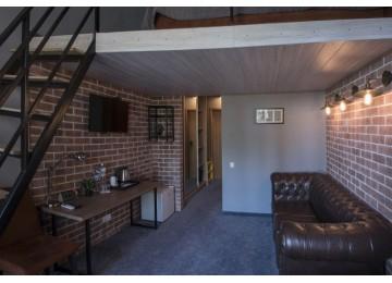 Отель «Beton Brut» Бетон Брют 2-местный superior mini duplex LV