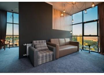 Отель «Beton Brut» Бетон Брют 3-местный 2-комнатный land panoramic suite