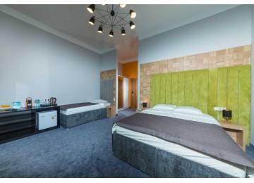 Отель «Beton Brut» Бетон Брют 3-местный triple SV
