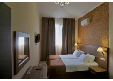 Стандарт 2-местный 1-комнатный (Новый корпус) |  Гостевой  комплекс  «Хуторок», Анапа