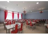 Парк-отель «Лазурный берег», обеденный зал (шведская линия)