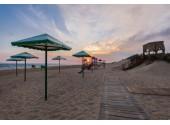 Парк-отель «Лазурный берег», собственный, оборудованный пляж