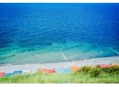 Санаторий «Аквамарин», пляж