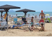 Санаторий «Парус» Пляж